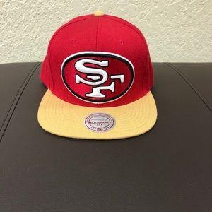 San Fransisco 49ers Mitchell & Ness Snapback